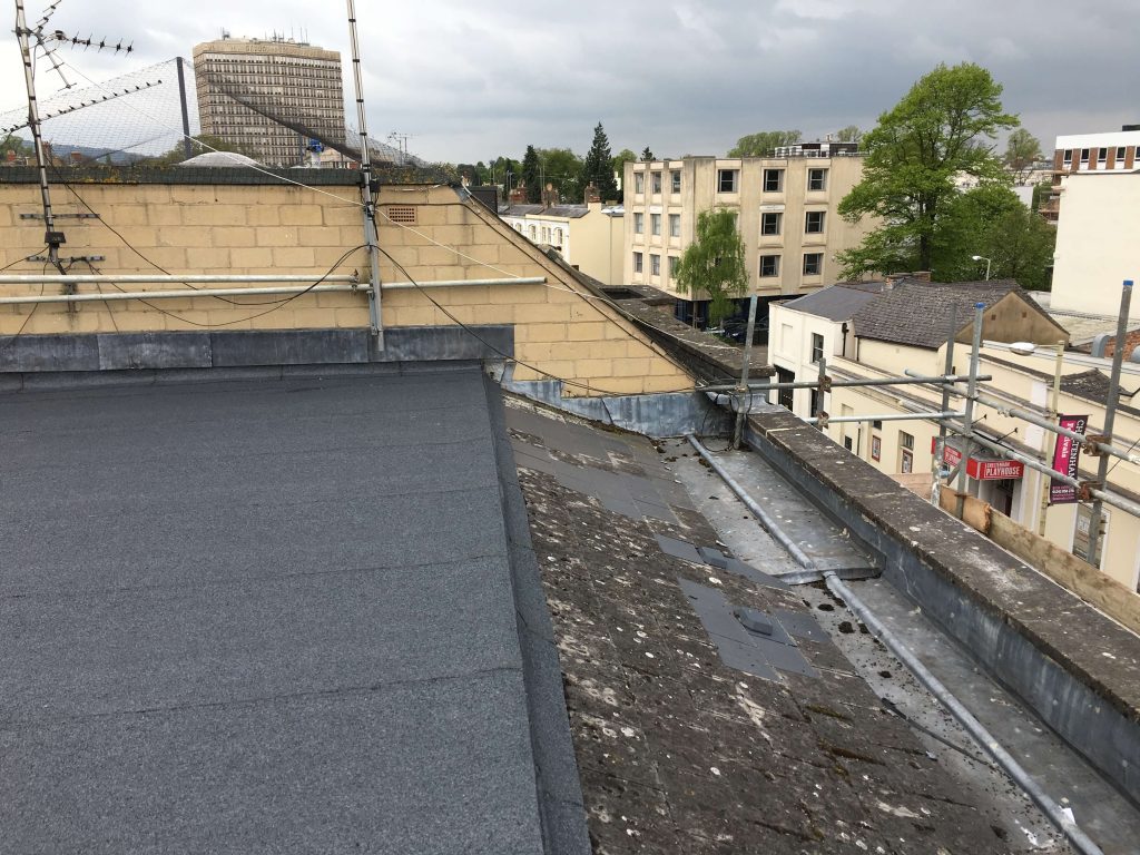 felt roof refurbishment