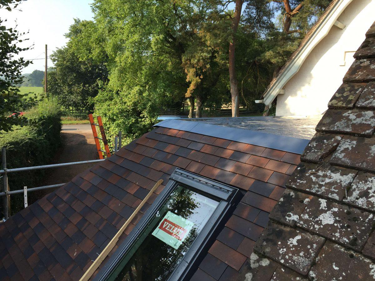 refurbishment tile and single ply
